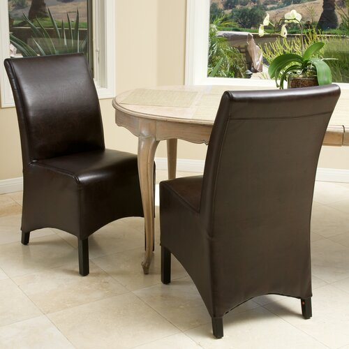 Butler Leather Dining Chairs (Set of 2) (Set of 2)
