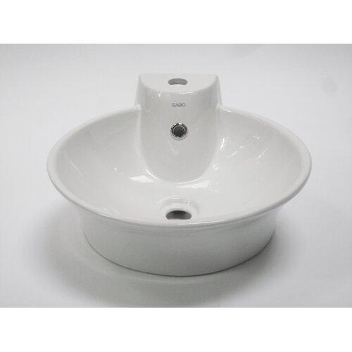 Kohler Vessel Sinks : Kohler Vox Rectangle Vessels with Faucet Deck and 8
