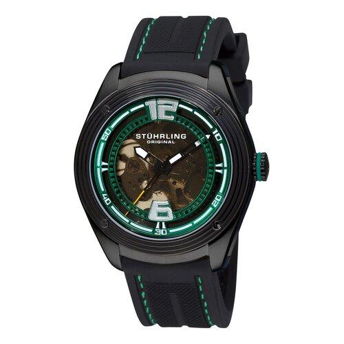 Stuhrling Original Men's Millennia Conquest Automatic Round Watch