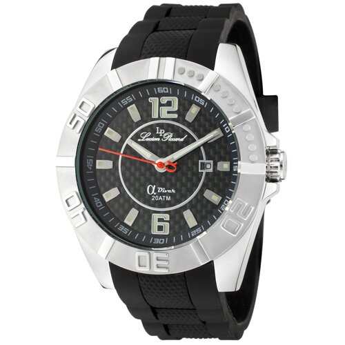 Lucien Piccard Men's A Diver Round Watch