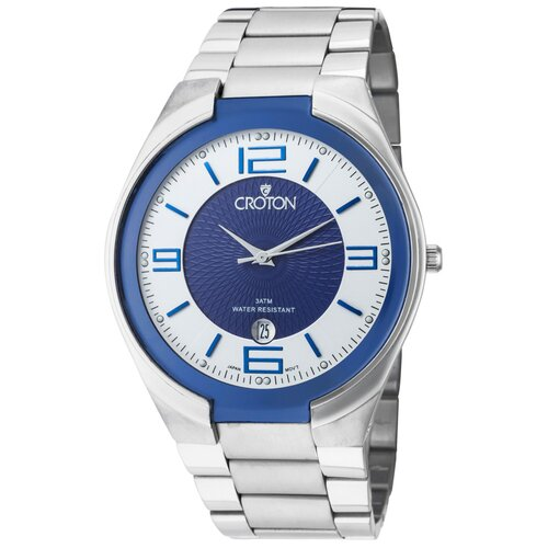 Men's Two Tone Round Watch