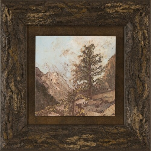 Ashton Wall Décor LLC Western View VI Framed Painting Print