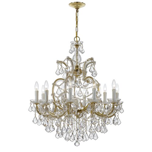 Maria Theresa 11 Light Candle Chandelier