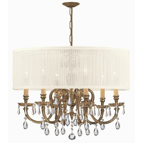 Crystorama Brentwood 6 Light Chandelier