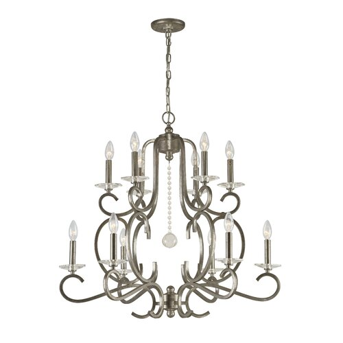 Crystorama Orleans 12 Light Chandelier