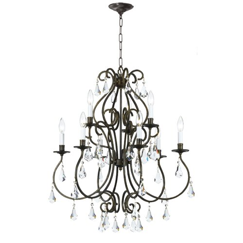Crystorama Ashton 9 Light Chandelier