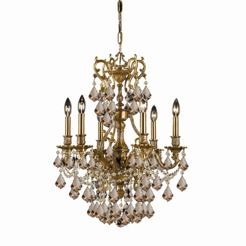 Crystorama Yorkshire 6 Light Chandelier