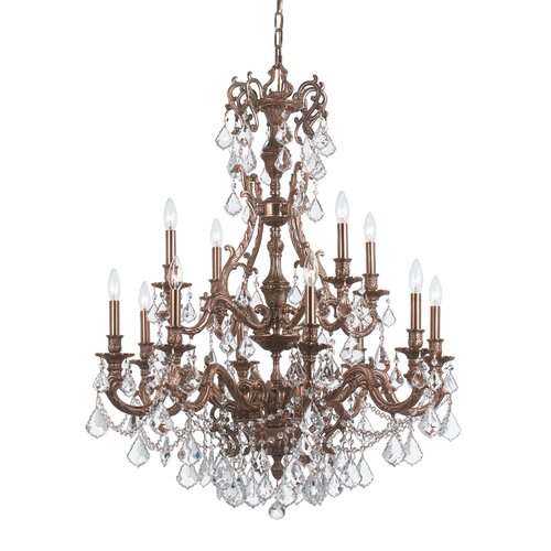 Crystorama Yorkshire 12 Light Chandelier