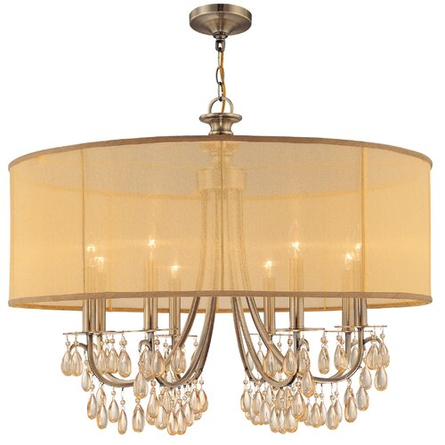 Crystorama Hampton 8 Light Chandelier