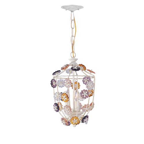 Crystorama Retro 3 Light Foyer Pendant