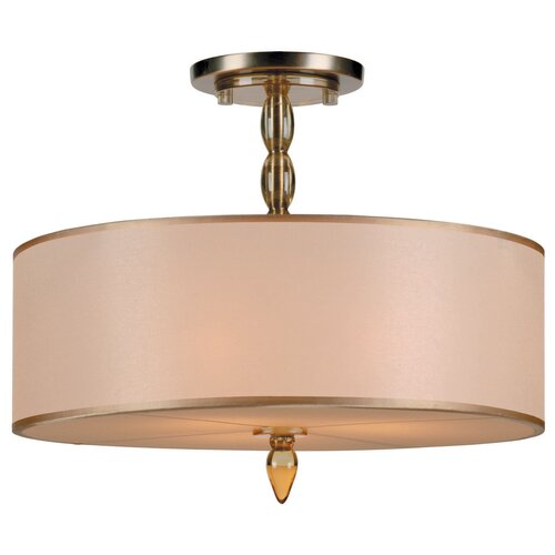 Crystorama Luxo 3 Light Chandelier