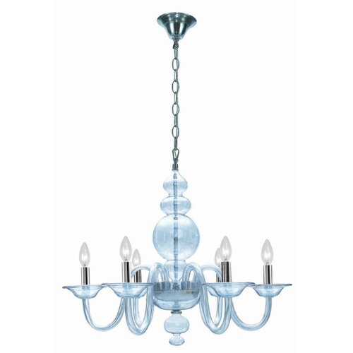 Crystorama Harper 6 Light Chandelier