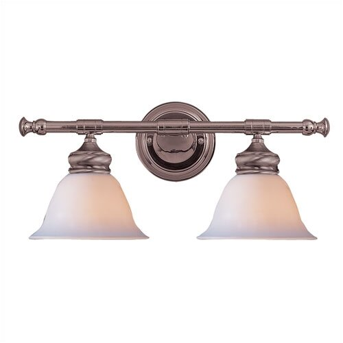 Crystorama 2 Light Bath Vanity Light