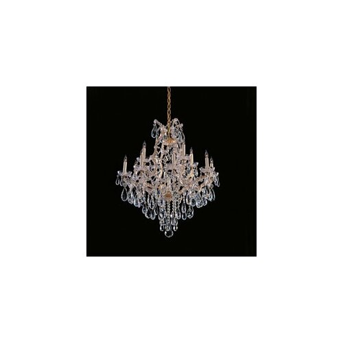 Bohemian Crystal 13 Light Candle Chandelier