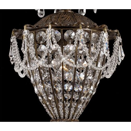Crystorama Traditional Classic 1 Light Crystal Chandelier