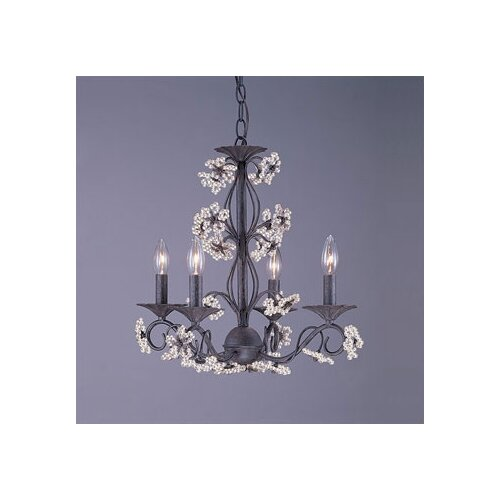 Paris Flea Market Candle Chandelier