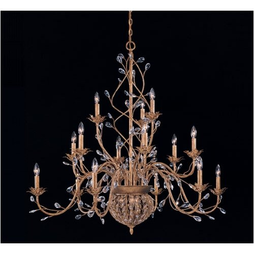 Bethany 20 Light Candle Chandelier