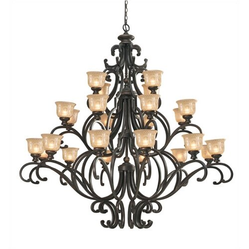 Norwalk 24 Light Chandelier