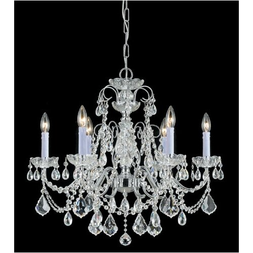 Crystorama Imperial 6 Light Chandelier