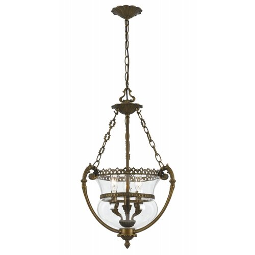Crystorama Camden Hill 3 Light Foyer Pendant