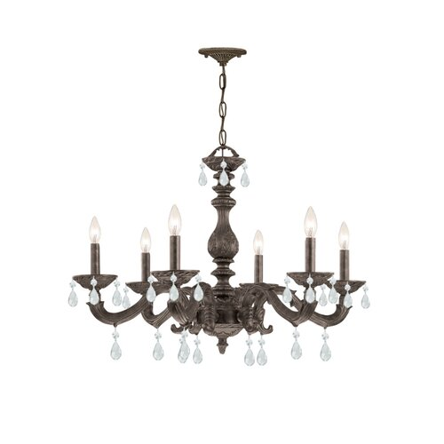 Crystorama Sutton 6 Light Chandelier