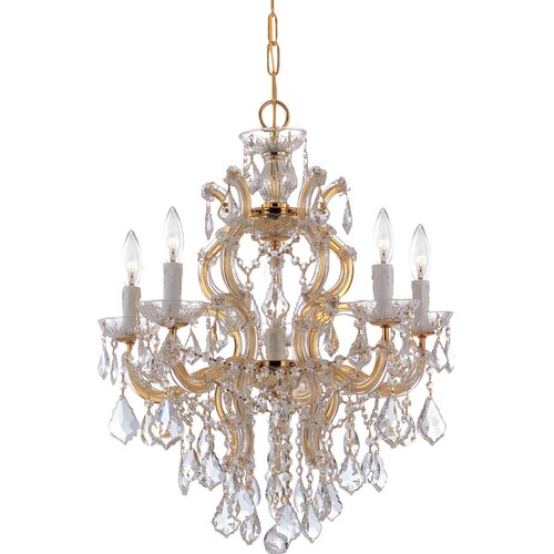 Crystorama Maria Theresa 5 Light Chandelier