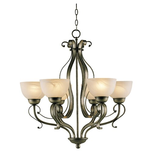 Brookfield 6 Light Chandelier