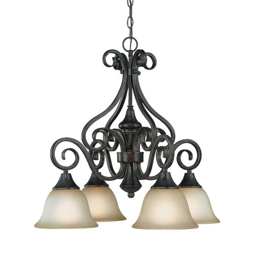 Jeremiah Torrey 4 Light Chandelier