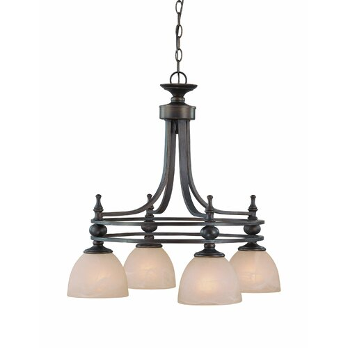 Seymour 4 Light Chandelier