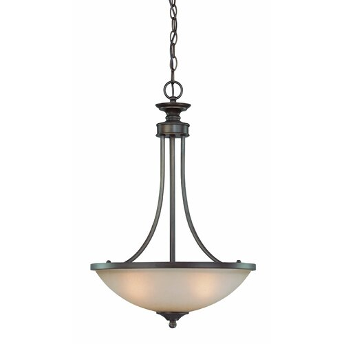 Spencer 3 Light Inverted Pendant