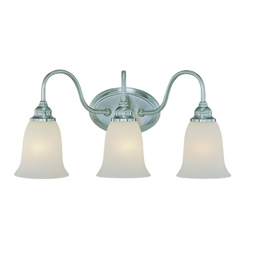 Jeremiah Linden Lane 3 Light Bath Vanity Light