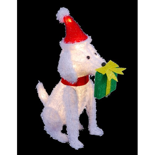 Decra Lite LTD Lighted Dog Christmas Decoration
