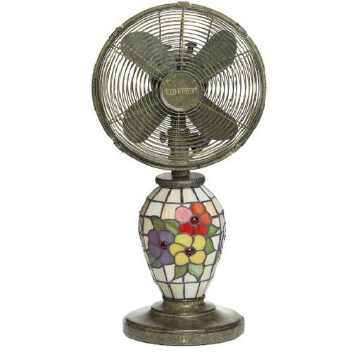 Flowers Table Fan