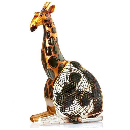 Deco Breeze Giraffe Figurine Table Top Fan