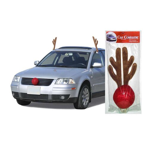 Mystic Industries Corp Reindeer Kit for Cars and Trucks Christmas Decoration
