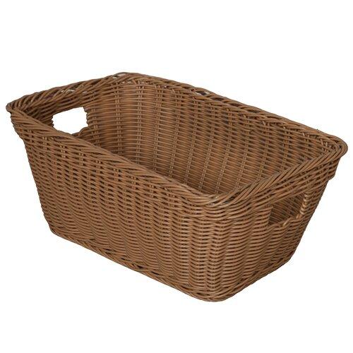 Wood Designs Natural Environment Basket in Natural Tan