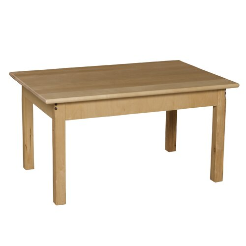 Wood Designs Rectangular Classroom Table