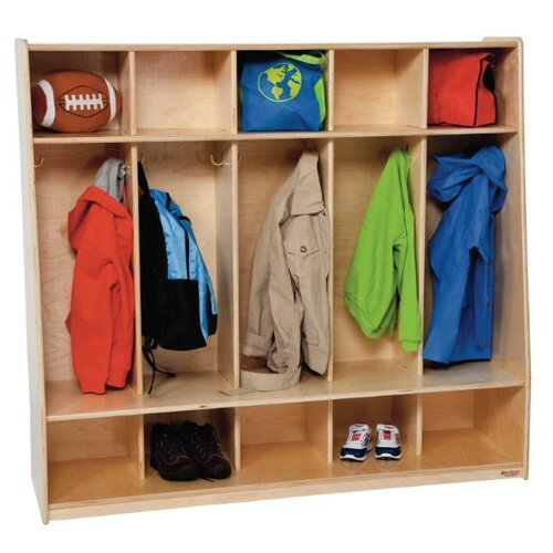 Wood Designs Tip-Me-Not Locker
