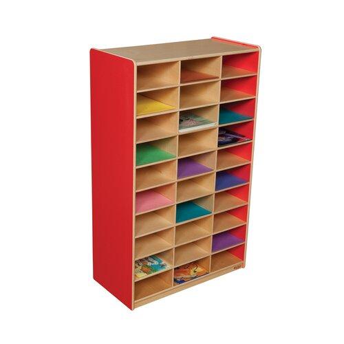Wood Designs Mailbox Storage Center