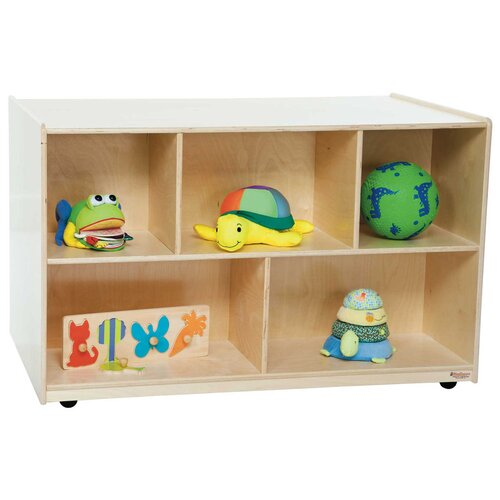 "Wood Designs 30"" x 48"" Mobile Double Storage Island"