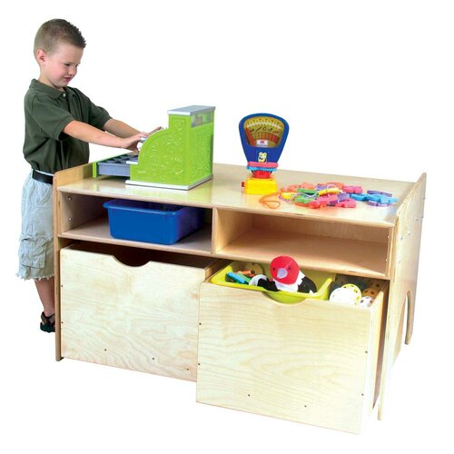 Wood Designs Store-N-Play Table