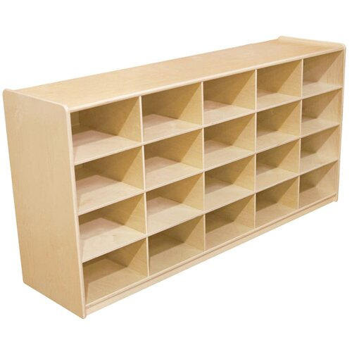 Wood Designs 20 Compartment Cubby