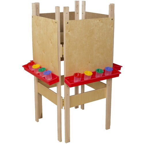 Wood Designs Four Side Easel in Tuff Gloss