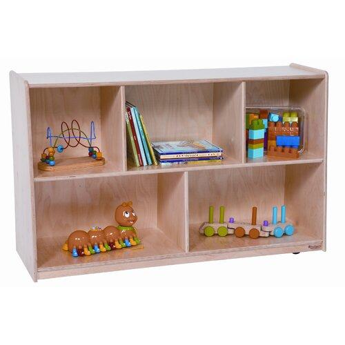 Wood Designs Tip-Me-Not High Storage Cabinet