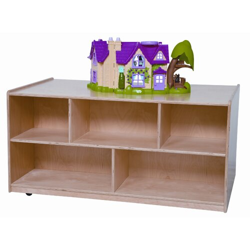 "Wood Designs 24"" x 48"" Mobile Double Storage Island"