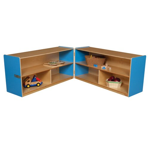 "Wood Designs 24"" Versatile Folding Storage Unit"