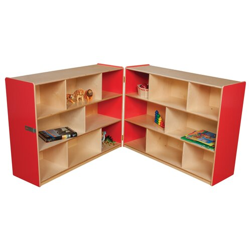 Wood Designs Folding Storage Unit