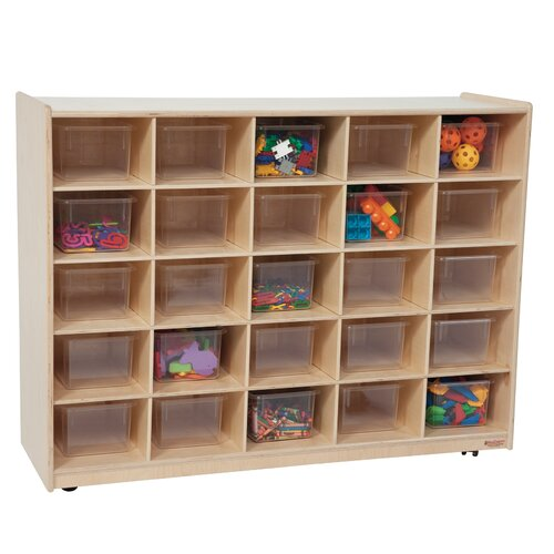 Wood Designs Contender 25 Compartment Cubby