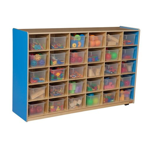 Wood Designs Storage Unit 30 Compartment Cubby