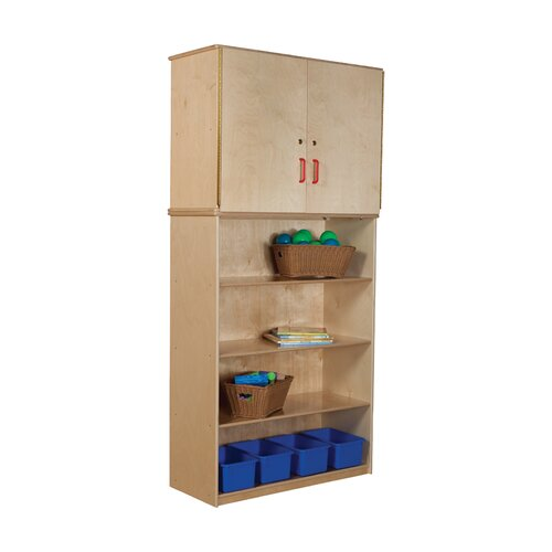 Wood Designs Vertical Storage Cabinet